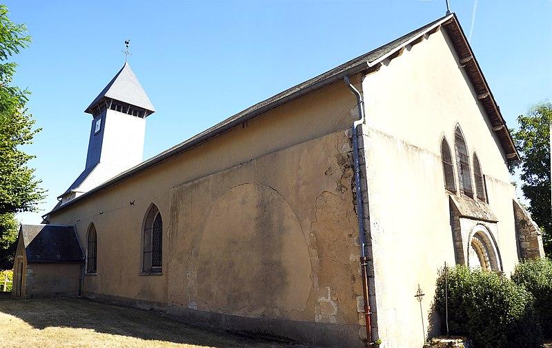 Photo du Monument Historique Eglise Saint-Maurice situé à Saint-Maurice-sur-Aveyron