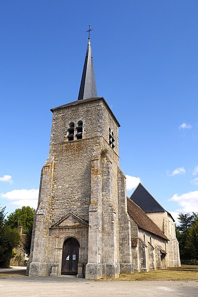 Photo du Monument Historique Eglise paroissiale Saint-Maurice situé à Saint-Maurice-sur-Fessard