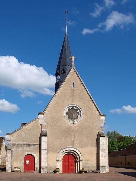 Photo du Monument Historique Eglise paroissiale de la Très-Sainte-Trinité situé à La Selle-sur-le-Bied