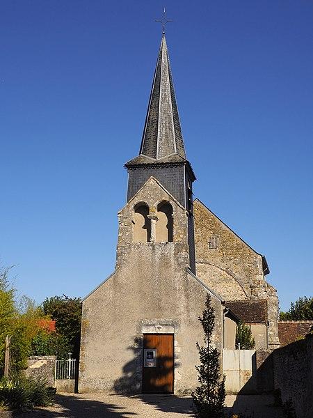 Photo du Monument Historique Eglise Saint-Pierre situé à Solterre