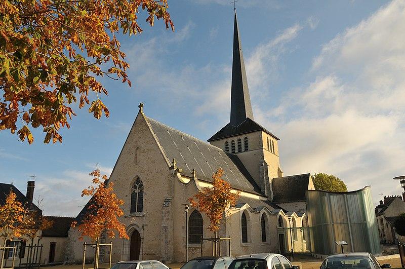 Photo du Monument Historique Eglise Saint-Germain situé à Sully-sur-Loire