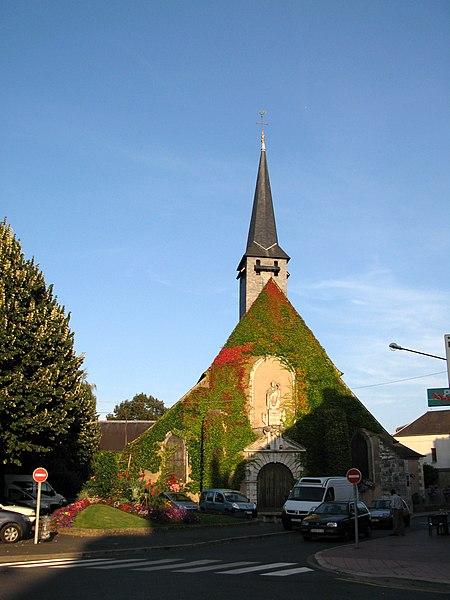 Photo du Monument Historique Eglise Saint-Ythier situé à Sully-sur-Loire
