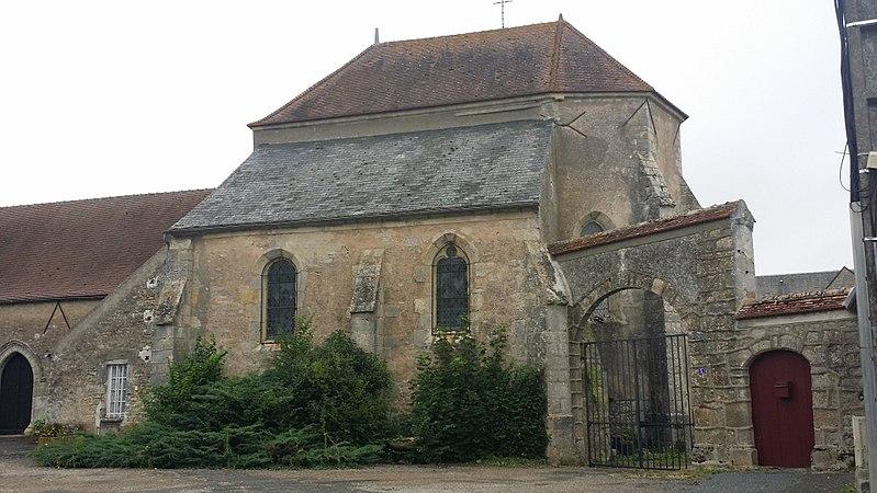 Photo du Monument Historique Eglise Saint-Pierre et Saint-Marcou situé à Thignonville