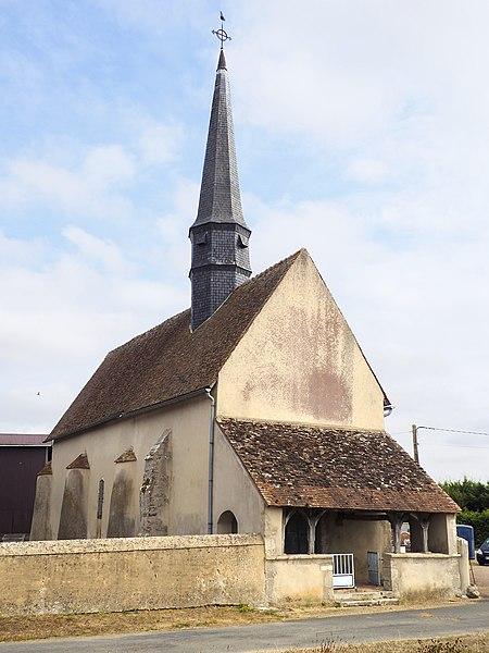 Photo du Monument Historique Eglise Saint-Jean-Baptiste situé à Thorailles