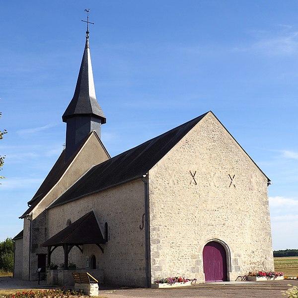 Photo du Monument Historique Eglise Saint-Pierre situé à Treilles-en-Gâtinais