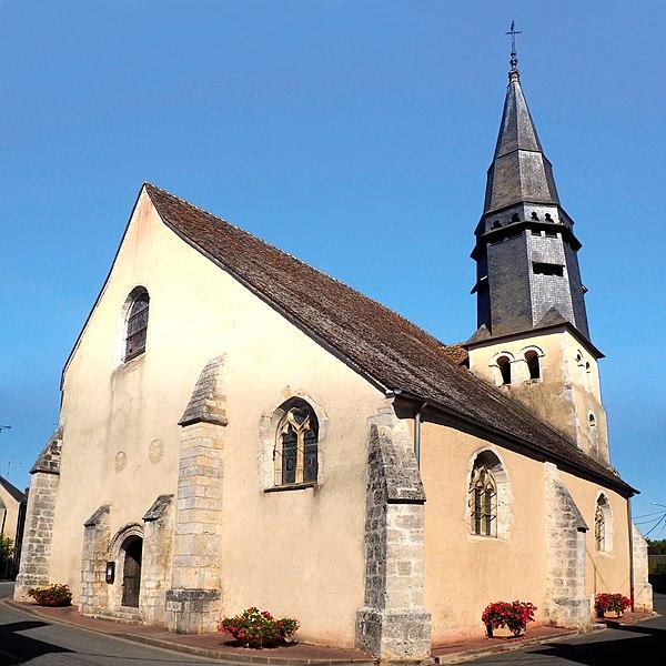 Photo du Monument Historique Eglise Saint-Martin situé à Triguères