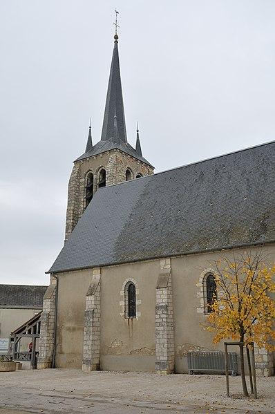 Photo du Monument Historique Eglise Saint-Pierre situé à Vimory