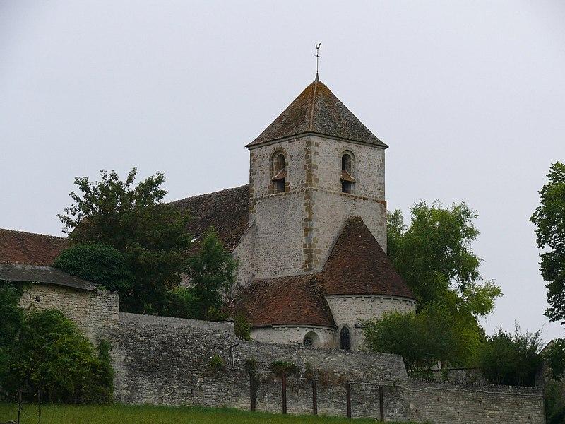 Photo du Monument Historique Eglise Sainte-Brigide situé à Yèvre-la-Ville
