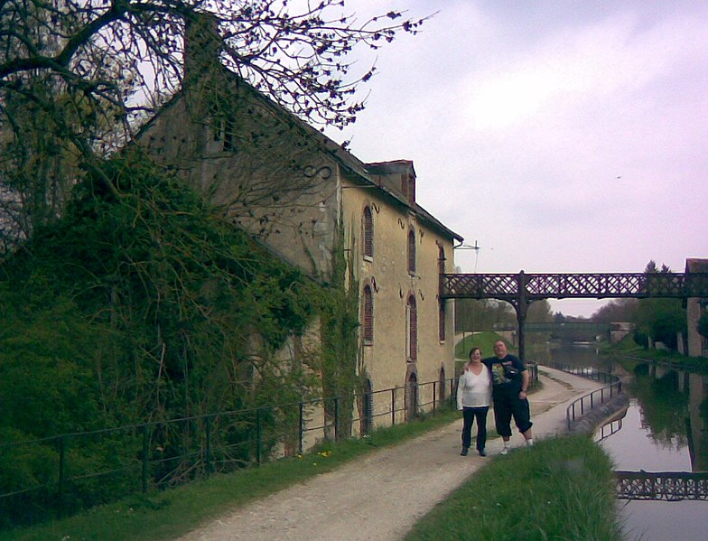Photo du Monument Historique Moulin à eau dit Moulin Bardin situé à Amilly