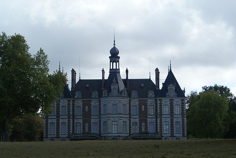 Photo du Monument Historique Château du Muguet situé à Breteau