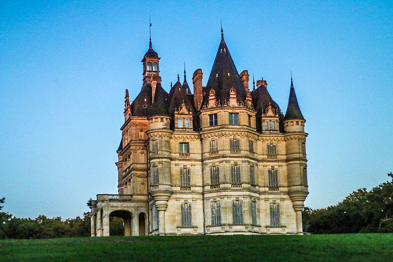 Photo du Monument Historique Château de Bon-Hôtel situé à Ligny-le-Ribault