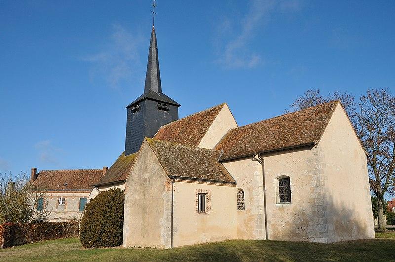 Photo du Monument Historique Eglise Saint-Etienne situé à Lion-en-Sullias
