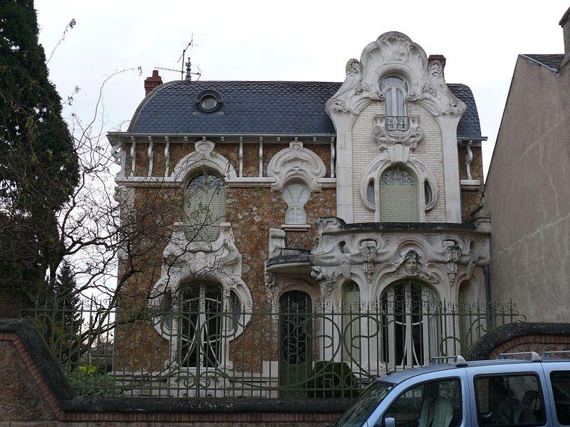 Photo du Monument Historique Maison Art Nouveau situé à Orléans