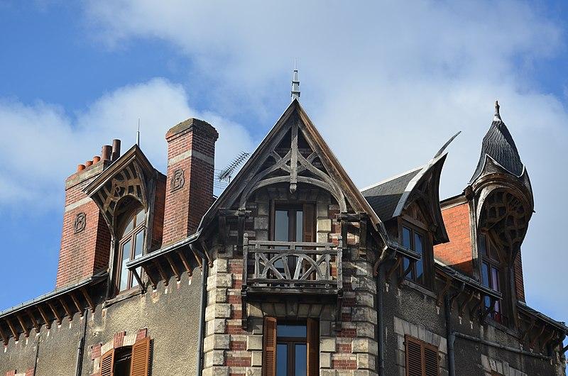 Photo du Monument Historique Maison à lucarnes de type compagnonnique situé à Orléans