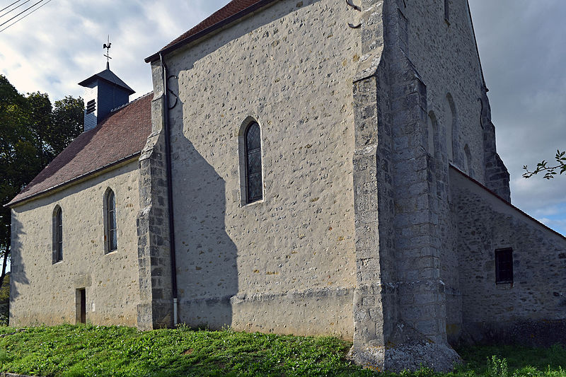 Photo du Monument Historique Eglise paroissiale Saint-Blaise ou Saint-Fiacre situé à Dimancheville