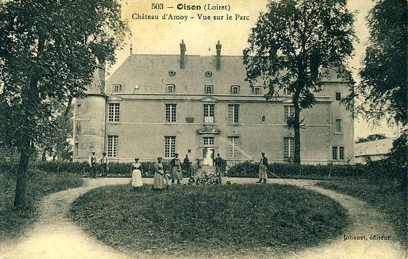 Photo du Monument Historique Château d'Amoy situé à Oison