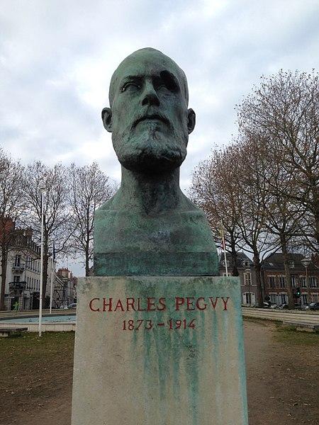 Photo du Monument Historique Monument à Charles Péguy situé à Orléans