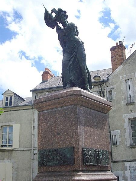 Photo du Monument Historique Monument à Jeanne d'Arc situé à Orléans
