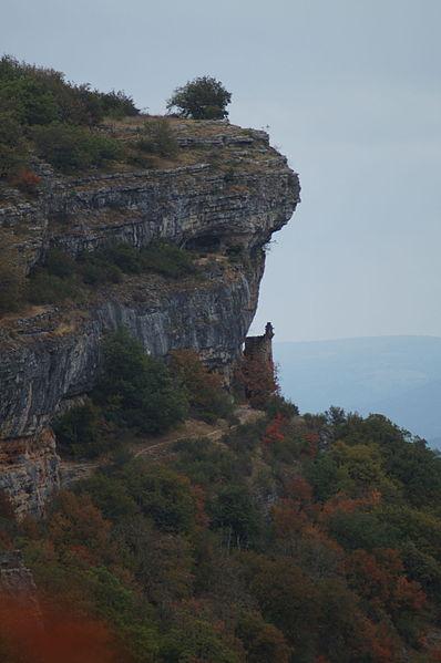 Photo du Monument Historique Restes du château des Anglais situé à Autoire
