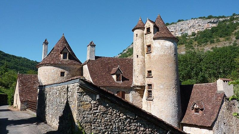 Photo du Monument Historique Ancien château de Limargue situé à Autoire