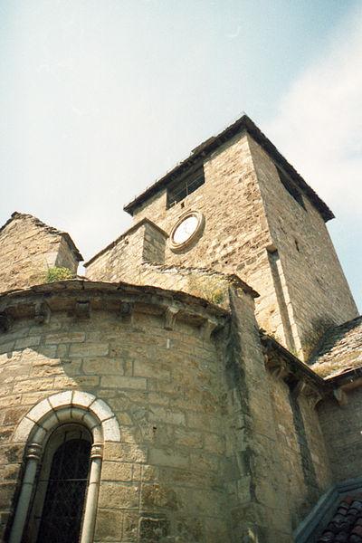Photo du Monument Historique Eglise Saint-Pierre situé à Autoire
