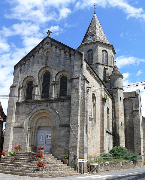 Photo du Monument Historique Eglise Saint-Geniès situé à Aynac