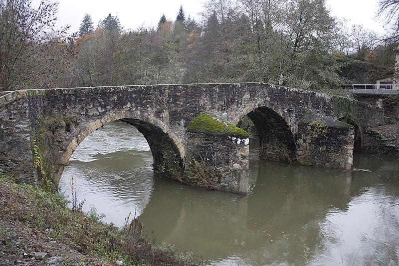 Photo du Monument Historique Pont sur le Célé situé à Bagnac-sur-Célé
