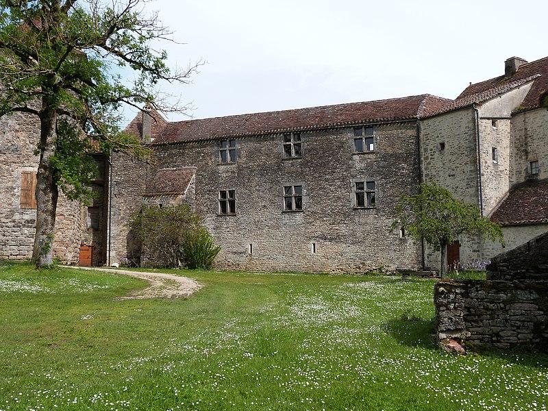 Photo du Monument Historique Château de Labastide dit aussi de Marsa situé à Beauregard