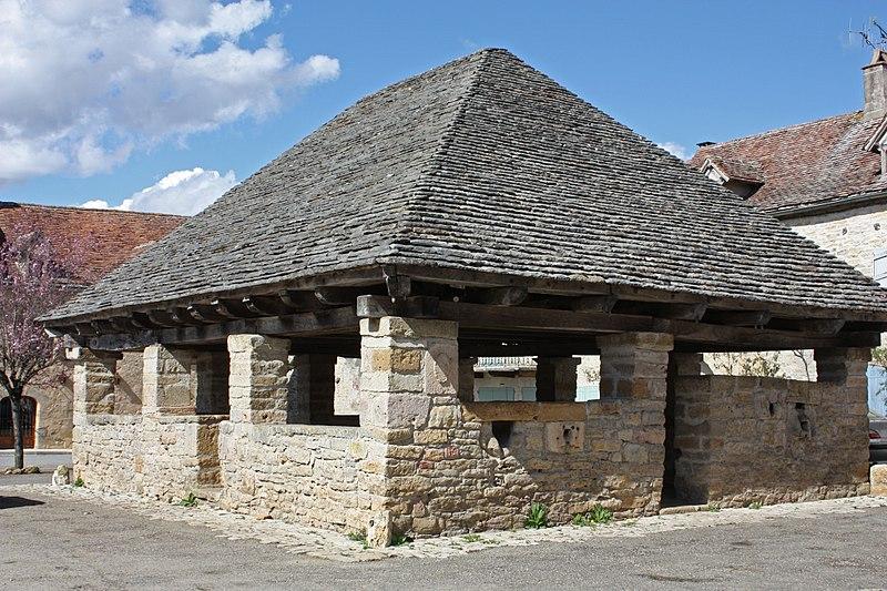 Photo du Monument Historique Vieille halle situé à Beauregard