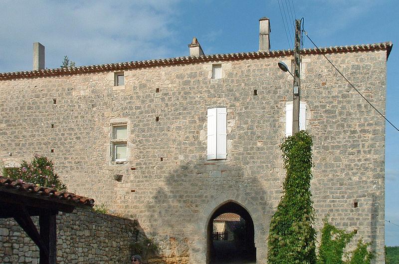 Photo du Monument Historique Ancien presbytère situé à Bélaye