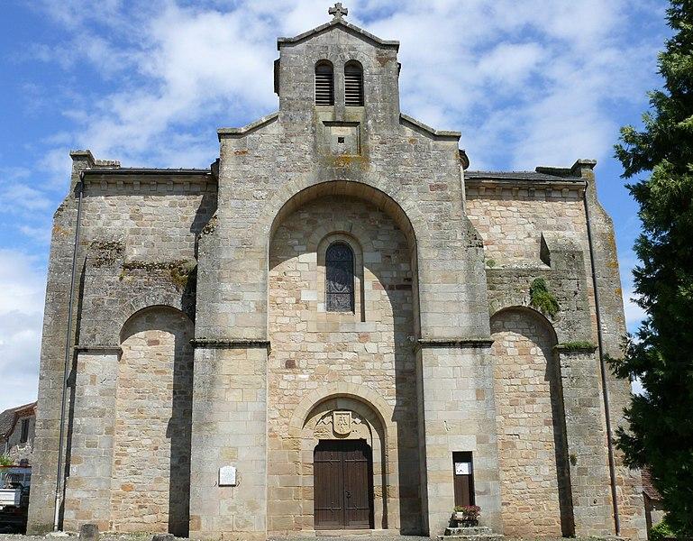 Photo du Monument Historique Eglise Saint-Saturnin situé à Le Bourg