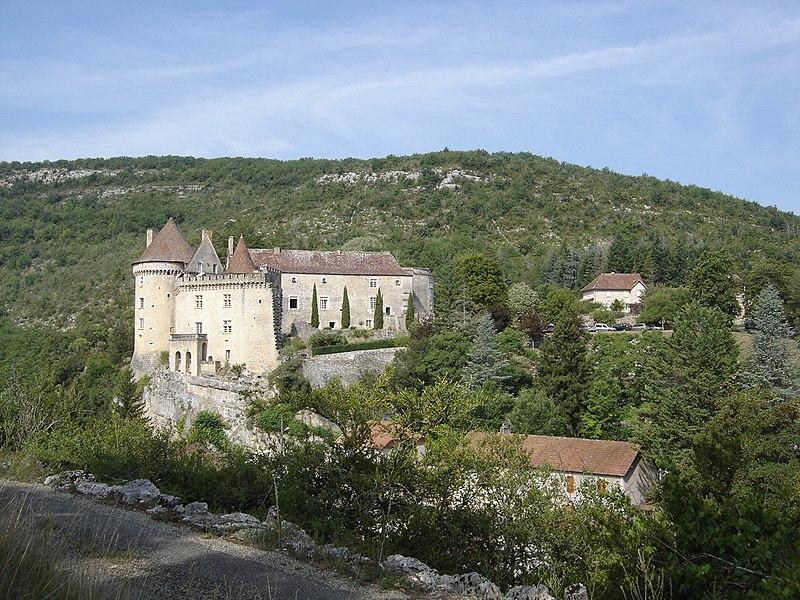 Photo du Monument Historique Château situé à Cabrerets
