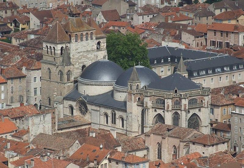 Photo du Monument Historique Cathédrale Saint-Etienne situé à Cahors