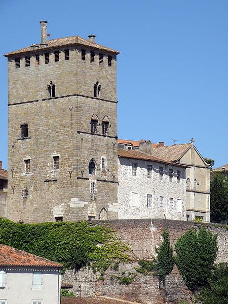 Photo du Monument Historique Ancien palais de Via connu sous l'appellation Château du Roi, actuelle prison d'Etat situé à Cahors