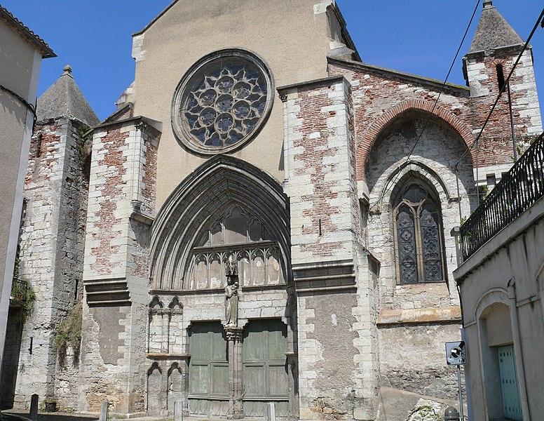 Photo du Monument Historique Eglise Saint-Urcisse situé à Cahors
