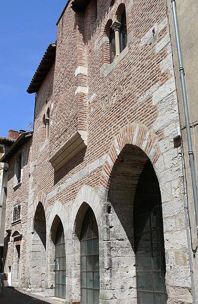 Photo du Monument Historique Immeuble dit ancien cuvier du Chapître situé à Cahors