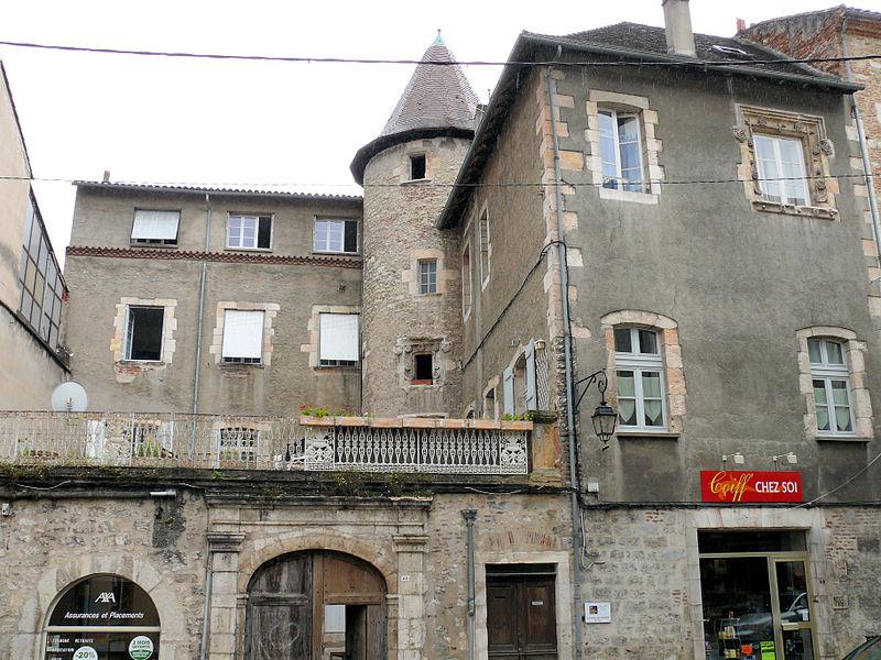 Photo du Monument Historique Immeuble situé à Cahors