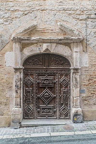 Photo du Monument Historique Maison situé à Cahors