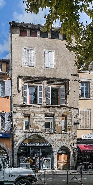 Photo du Monument Historique Maison Trémolière situé à Cahors