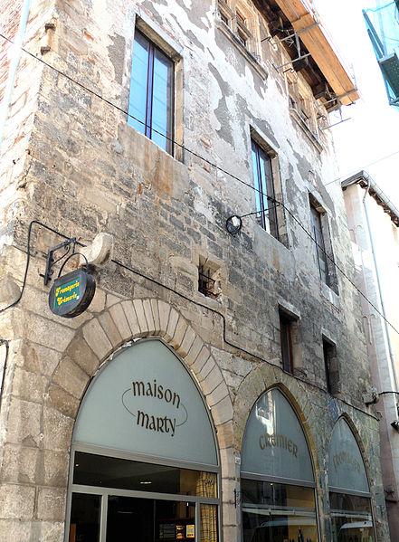 Photo du Monument Historique Maison Verdier situé à Cahors