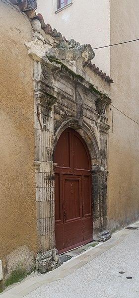 Photo du Monument Historique Maison Lacoste situé à Cahors