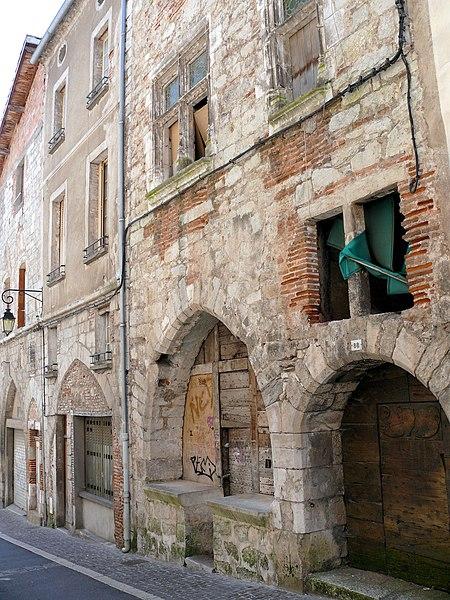 Photo du Monument Historique Demeure médiévale situé à Cahors