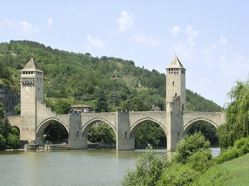 Photo du Monument Historique Pont Valentré situé à Cahors
