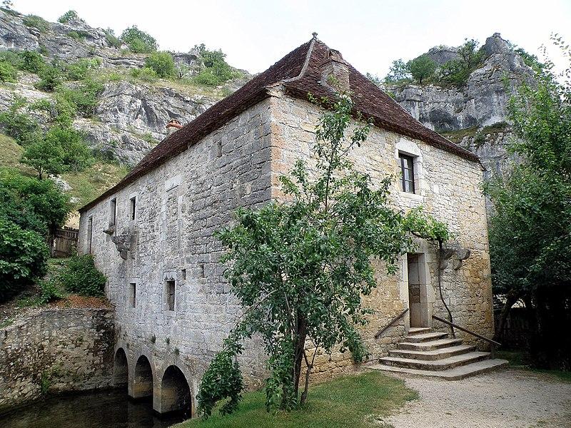 Photo du Monument Historique Moulin fortifié de Cognaguet situé à Calès