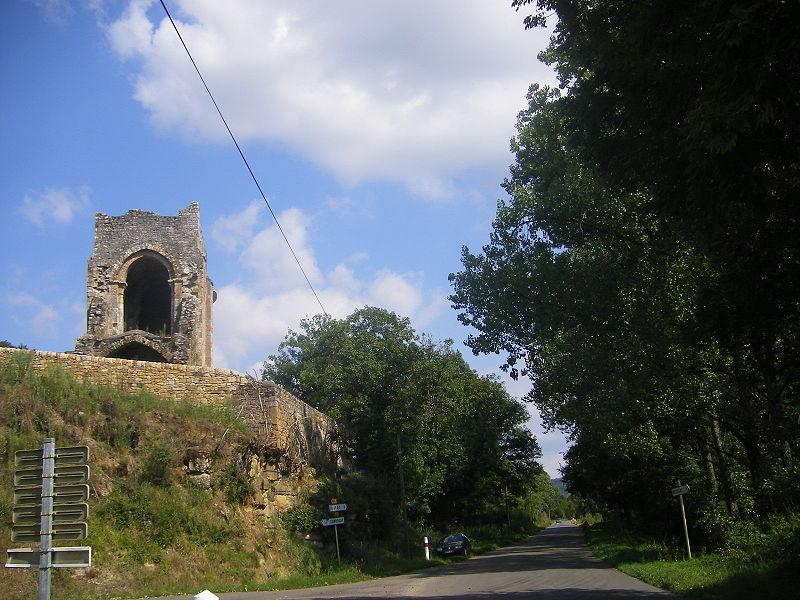Photo du Monument Historique Ancienne chapelle Saint-Martin situé à Camboulit