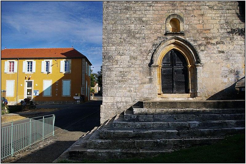 Photo du Monument Historique Eglise situé à Cassagnes