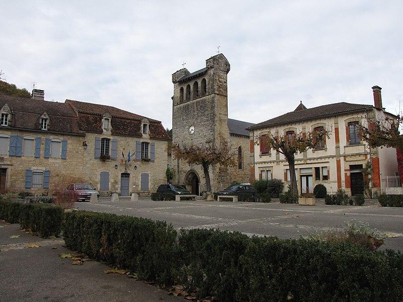 Photo du Monument Historique Eglise Notre-Dame de l'Assomption situé à Castelfranc