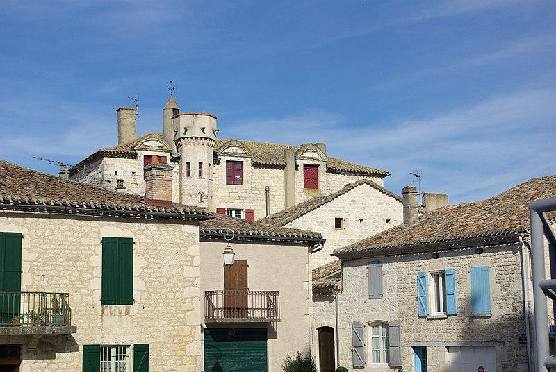 Photo du Monument Historique Château situé à Castelnau-Montratier