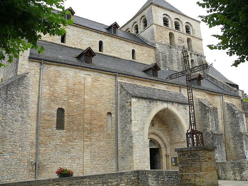 Photo du Monument Historique Ancien prieuré Saint-Jean situé à Catus