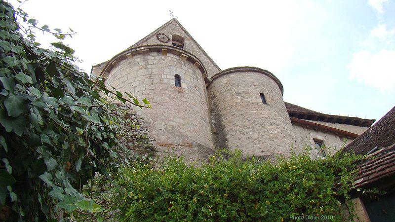 Photo du Monument Historique Eglise situé à Creysse